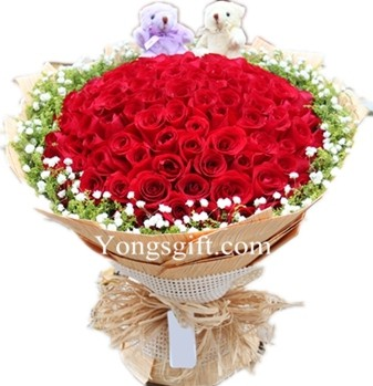 Ultimate Love 101 Red Rose to Taiwan