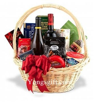 Wonderful Holiday Gift Basket Wine Duo to Japan