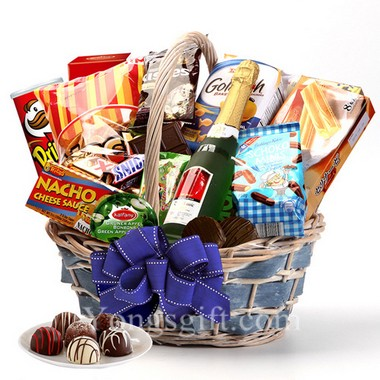 Sparking Wine and Snack Hamper