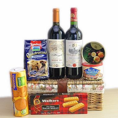 Deluxe Bordeaux Wine Duet Gift Hamper
