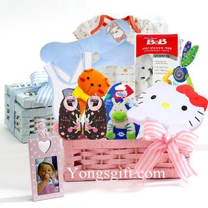 Baby Girl Gift Basket to South Korea