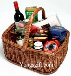 Gourment Wine Gift Basket to Japan