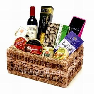 Cheerful Gourmet Basket to Japan