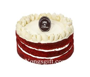 New York City Red Velvet Cake to South Korea