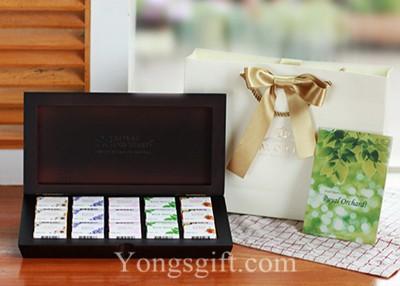 Royal Orchard Tea Luxury Wooden Box to South Korea