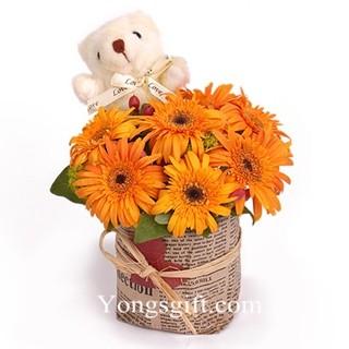 Sunflower Sweetness Combo to Taiwan