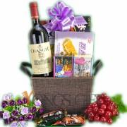 ChangYu Cabernet Wine Basket