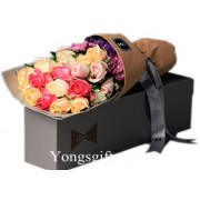 Colourful Day Rose Box