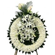 Funeral Flower Wreath-Standing Spray