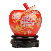 Chinese Peony Pottery Jar