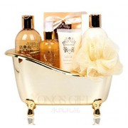 Chamomile Gold Tub Spa Bath Gift Set