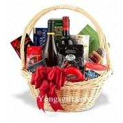Wonderful Holiday Gift Basket Wine Duo to Taiwan