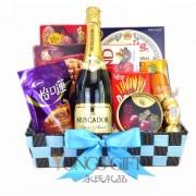 Champagne Elegance Basket