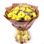 Vibrant Gerbera Bouquet