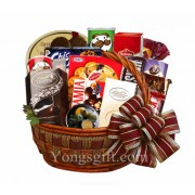 Happy Holiday Goodies Basket