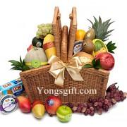 Premium Fruit Picnic Basket to South Korea