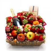 Moet and Fruit Holiday Hamper