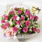 Flower Basket in Style