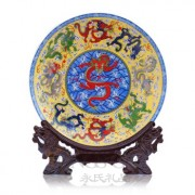 Decoration Pottery Plate-Dragon