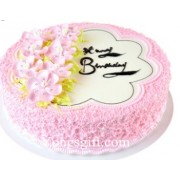8 Inch Pink Beauty Cake