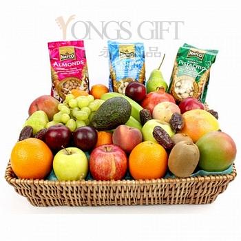 水果篮送中国-北京上海广州深圳