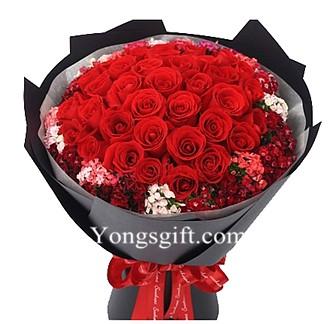 I Love You Bouquet Three Dozen Red Rose