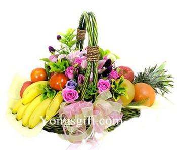 Flowers and Fruits to Taiwan