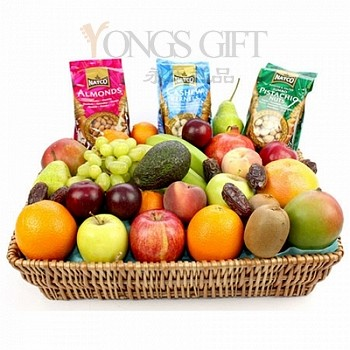Healthy Life Fruit and Nuts Basket