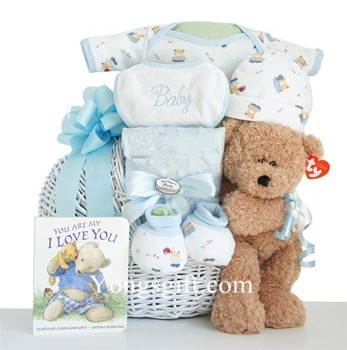 What a Cutie Pie Gift Basket for Boy