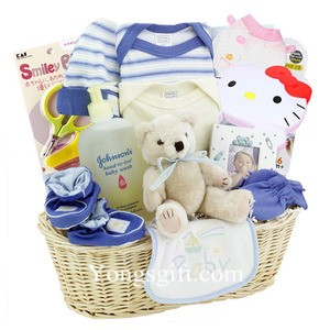 Send New Baby Gift Basket to South Korea