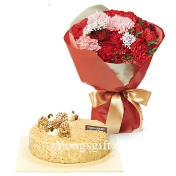 Carnation and Cake to South Korea