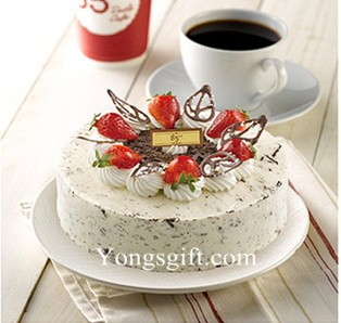 8 Inch Valina Chocolate Muse Cake To Taiwan