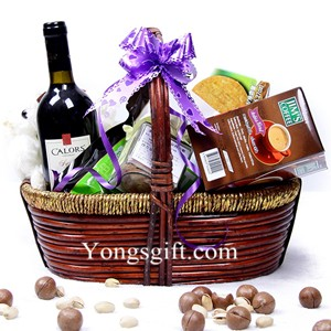 Spanish Classic Wine Gift Basket