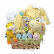 Little Charm Neutral Baby Gift Basket