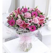 Baby Girl Flower Bouquet