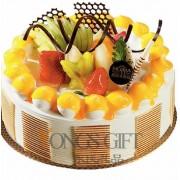 Cream and Fruit Cake to China