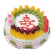 10 Inch Longevity Birthday Cake to China