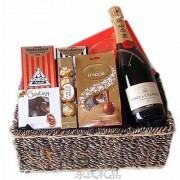 The Royal Champagne Moet Gift Basket