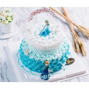 Frozen Themed Cakes to China