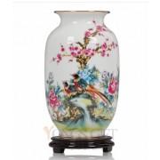 Colored Glaze Pottery Vase to China