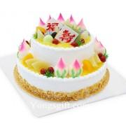 Two Tier Longevity Cake Deluxe to China