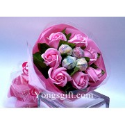 Flower and Candy Bouquet to South Korea