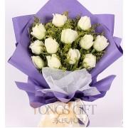 Elegant White Rose
