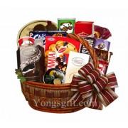 Happy Holiday Goodies Basket