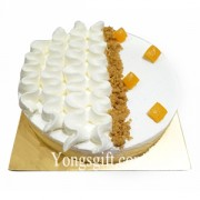 Light Vanila Cheese Cake to Indonesia