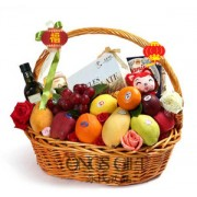 Traditional Chinese New Year Fruit Hamper-OUT OF STOCK!