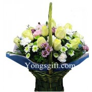 Mixed Flower Arrangement for Sympathy