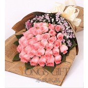 Deluxe Rose Bouquet to Taiwan