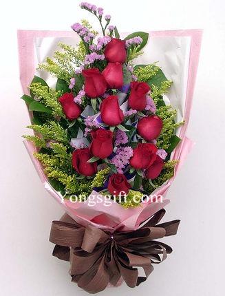 12-Red RoseFlower Delivery Japan